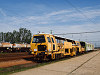 The KIAG-632 point and track grinding machine built by the Hungarian sub of Plasser&Theurer at Saj�ecseg station