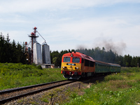The M�V-TR 418 165 between Szendrő and B�d�sk�tpuszta