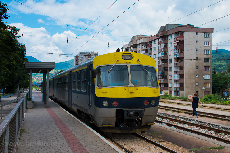 The ŽFBH 411 226 seen  photo