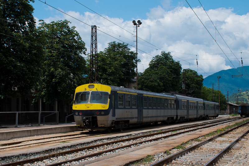 The ŽFBH 411 226 seen  picture