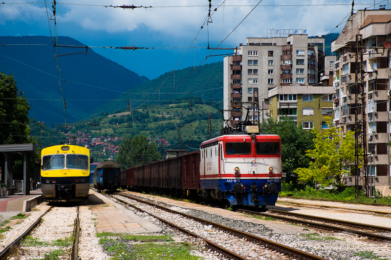 The ŽFBH 441 910 seen at Zenica photo