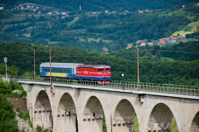 The ŽFBH 441 411 seen  photo
