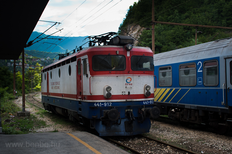 The ŽFBH 441 912 seen  photo