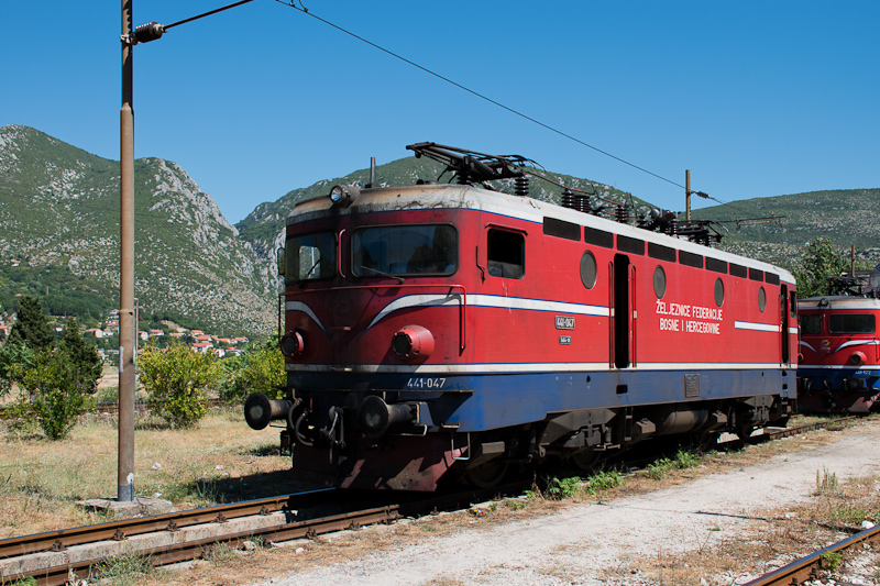 The ŽFBH 441 047 seen  photo