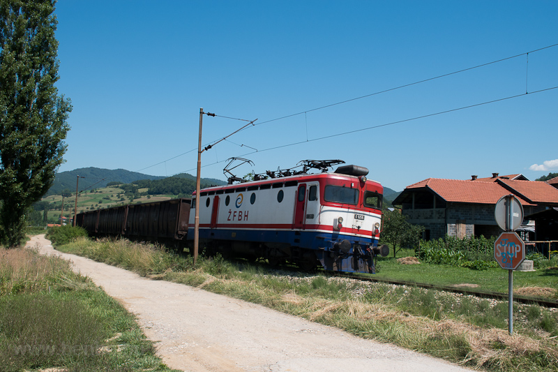 The ŽFBH 441 515 seen  photo