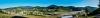 A panoramic photo of the viadukt section near Tarčin