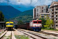 A ŽFBH 441 910 Zenica állomáson