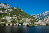 Egy ismeretlen ŽFBH 441  Jablanica és Drežnica között a Grabovica-viadukton