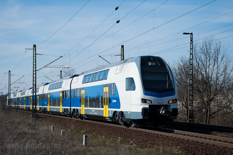 The MÁV-START Stadler KISS  picture