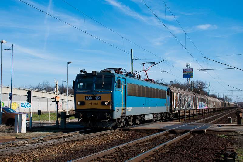 The MÁV-START 630 151 seen  photo