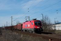 A RailCargoHungaria / ÖBB 1116 002 Szemeretelep megállóhelyen