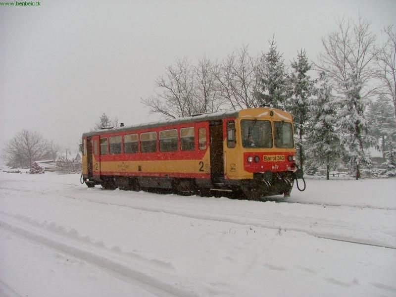 Bzmot 343 Drégelypalánkon fotó