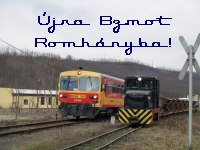 Bzmot 243 - Photo charter at the Di�sjen�-Romh�ny railway
