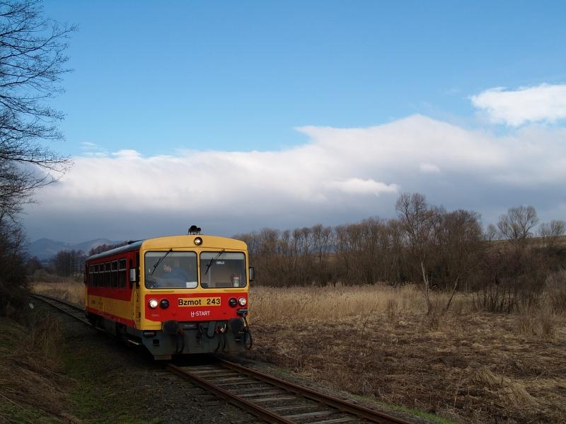 Bzmot 243 Diósjenõ és Tolmács között fotó