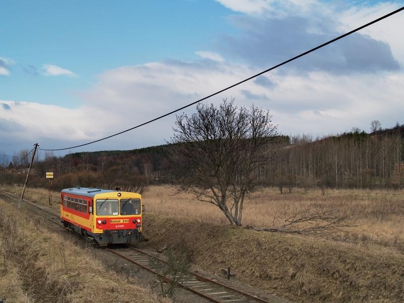 Bzmot 243 Tolmács és Rétság között fotó
