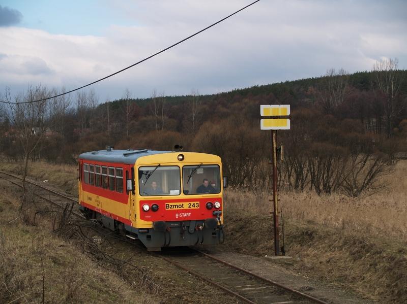 The Bzmot 243 between Tolmács and Rétság photo