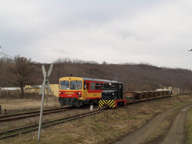 The Bzmot 243 at Bánk photo