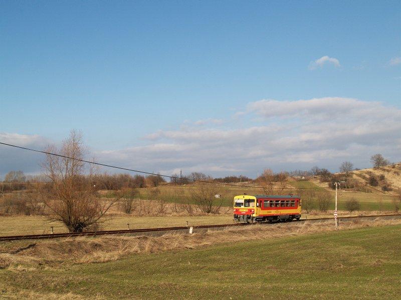 Bzmot 243 Diósjenõ bejárati jelzõjénél fotó