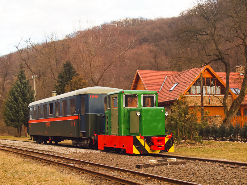 The C50 3756 of the Nagybörzsöny Forest Railway seen at Morgó on the photo charter after it was refurbished at the Királyrét Forest Railway's workshop at Paphegy photo