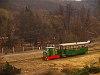 A Nagybörzsönyi Erdei Vasút C50 3756 pályaszámú kismozdonya a Királyréti Erdei Vasúton a paphegyi felújítása alkalmából rendezett fotósvonaton Hártókút állomáson