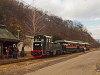 A Királyréti Erdei Vasút Mk48 2014-ese Paphegy állomáson