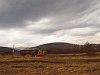 A Nagybörzsönyi Erdei Vasút C50 3756 pályaszámú kismozdonya a Királyréti Erdei Vasúton a paphegyi felújítása alkalmából rendezett fotósvonaton Paphegy és Szokolya-Riezner között