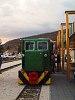 A Nagybörzsönyi Erdei Vasút C50 3756 pályaszámú kismozdonya a Királyréti Erdei Vasúton a paphegyi felújítása alkalmából rendezett fotósvonaton Kismaroson