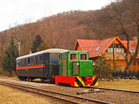 The C50 3756 of the Nagybörzsöny Forest Railway seen at Morgó on the photo charter after it was refurbished at the Királyrét Forest Railway's workshop at Paphegy