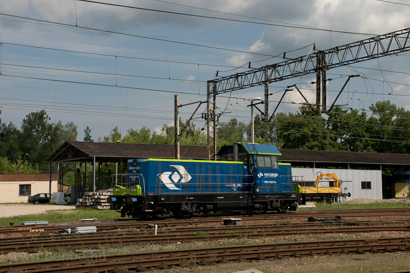 The PKP Cargo SM42 1322 see photo