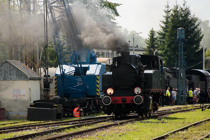 Steam locomotive parade at  photo