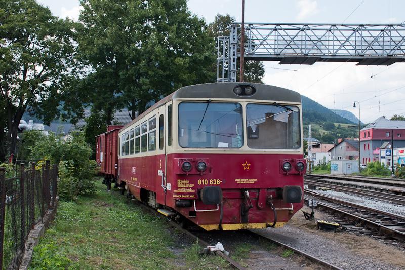 The ČSD 810 636 seen a photo