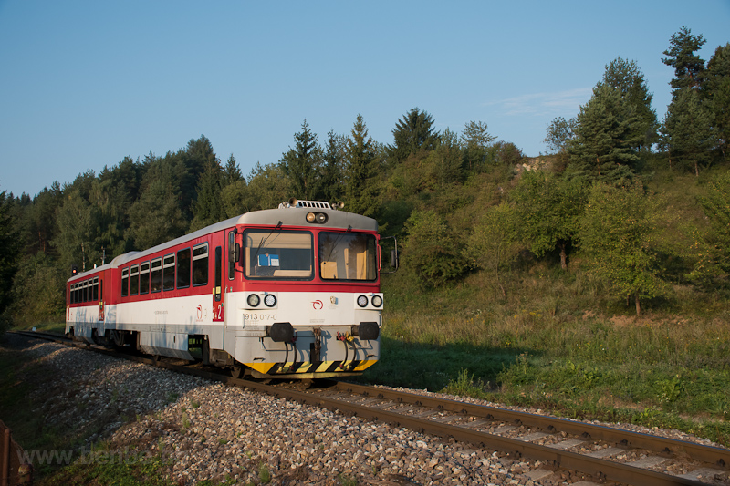 A ZSSK 913 017-0 Litvailló és Bicsefalu között fotó