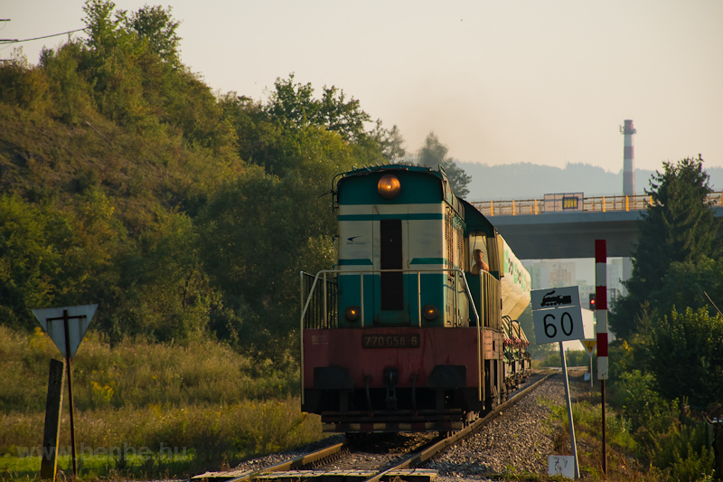 The ZSSK Cargo 770 058-6 se picture