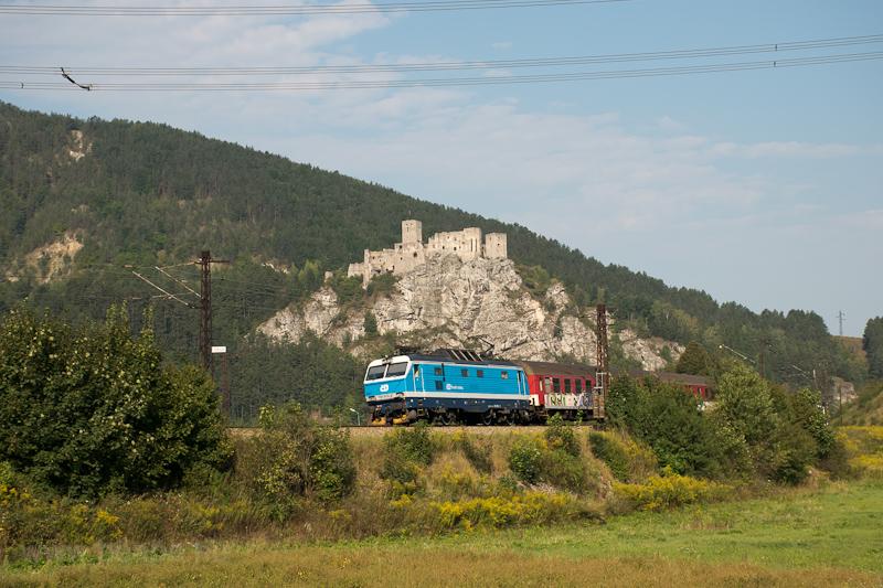 The ČD 151 012-2 seen  photo