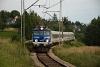 A PKP EP07 355 Skawa Srodkowa és Skawa között