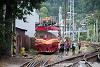 A ŽSR MVTV 02-31 Rózsahegy állomáson