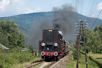 A PKP Ol49 69 Rabka Zaryte és Rabka-Zdrój között