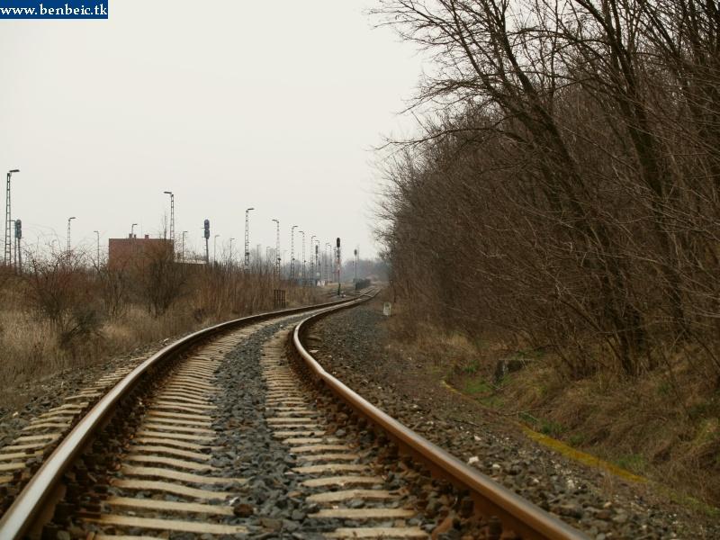 Csajág állomás Hajmáskér felõl nézve fotó
