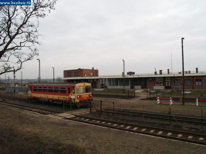 Bzmot 330 Csajág állomáson fotó