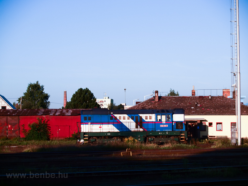 The ČD 743 010-1 seen  photo