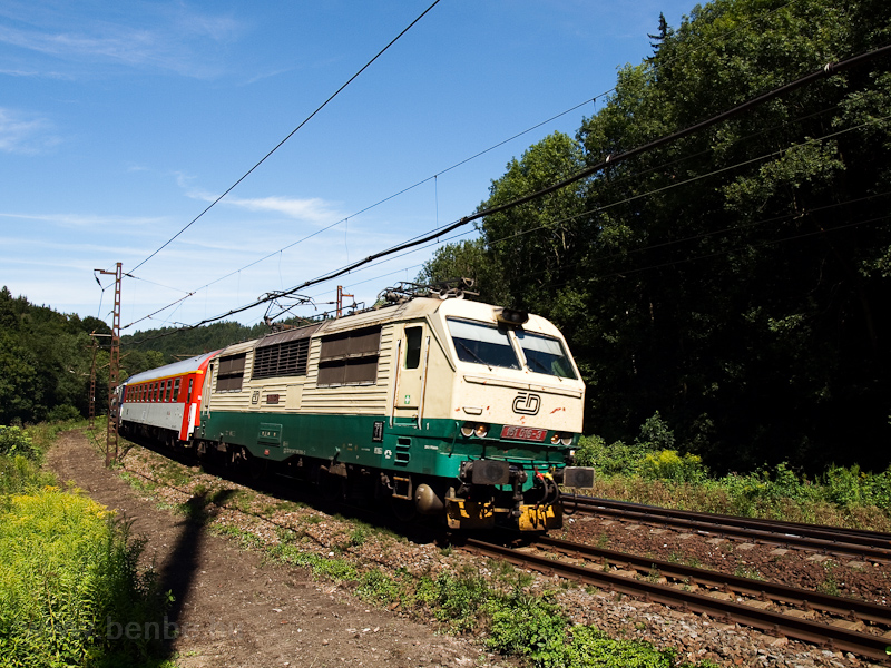 The ČD 150 016-3 seen  photo