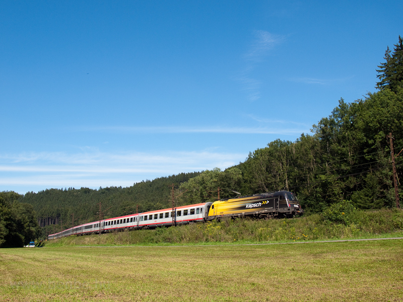 "The ÖBB 1216 210-5 ""Kapsch"" picture"