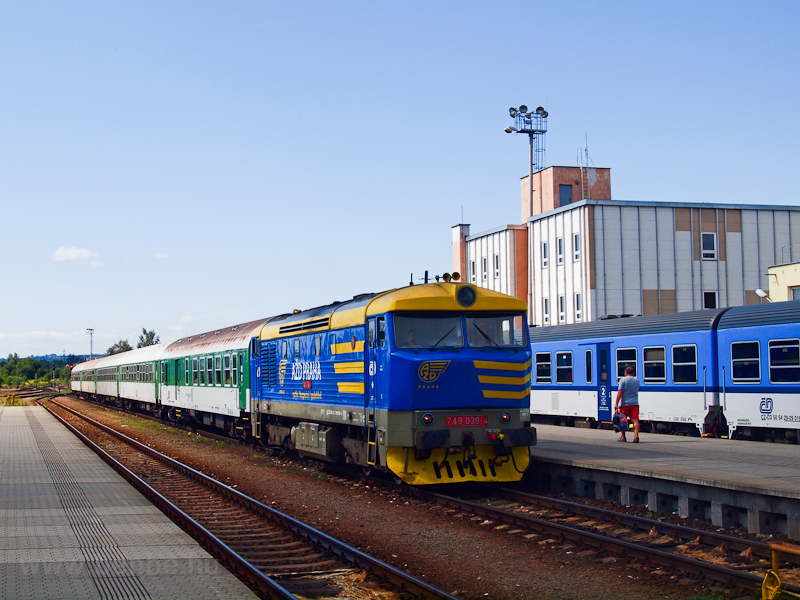The ČD 749 039-4 seen at Turnov photo