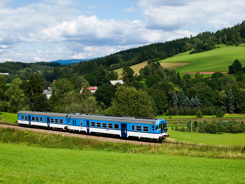 The ČD 843 009-2 seen  picture