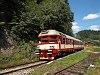 The ČD 854 031-2 seen at Jesenny