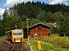 A ČD 814 192-1 Jesenny megálló-rakodóhelyen