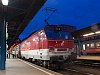 The ZSSK 350 016-2 Gorilla seen at Budapest-Keleti