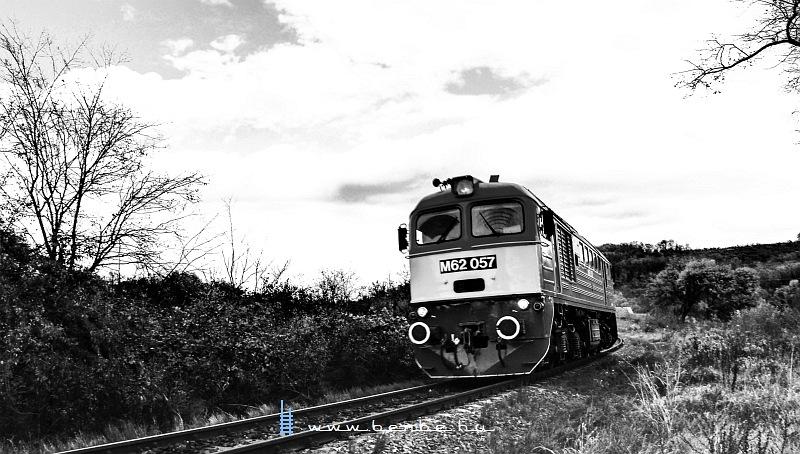 M62 057 Vokány és Kistótfalu között fotó