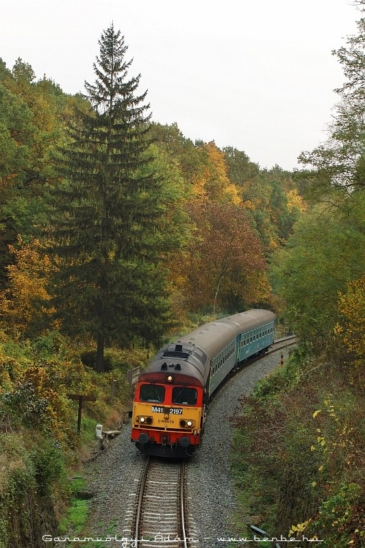 The M41 2197 near the Mõcsény tunnel photo
