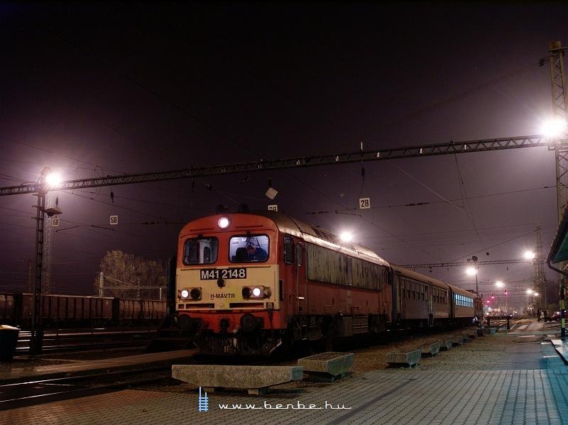 M41 2148 éjjel Dombóváron fotó